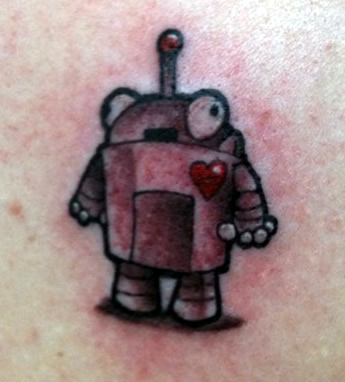 @rebeccaslosberg's SEOmoz bot tattoo