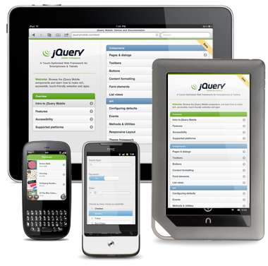 Download the jQuery Mobile documentation for offline use.