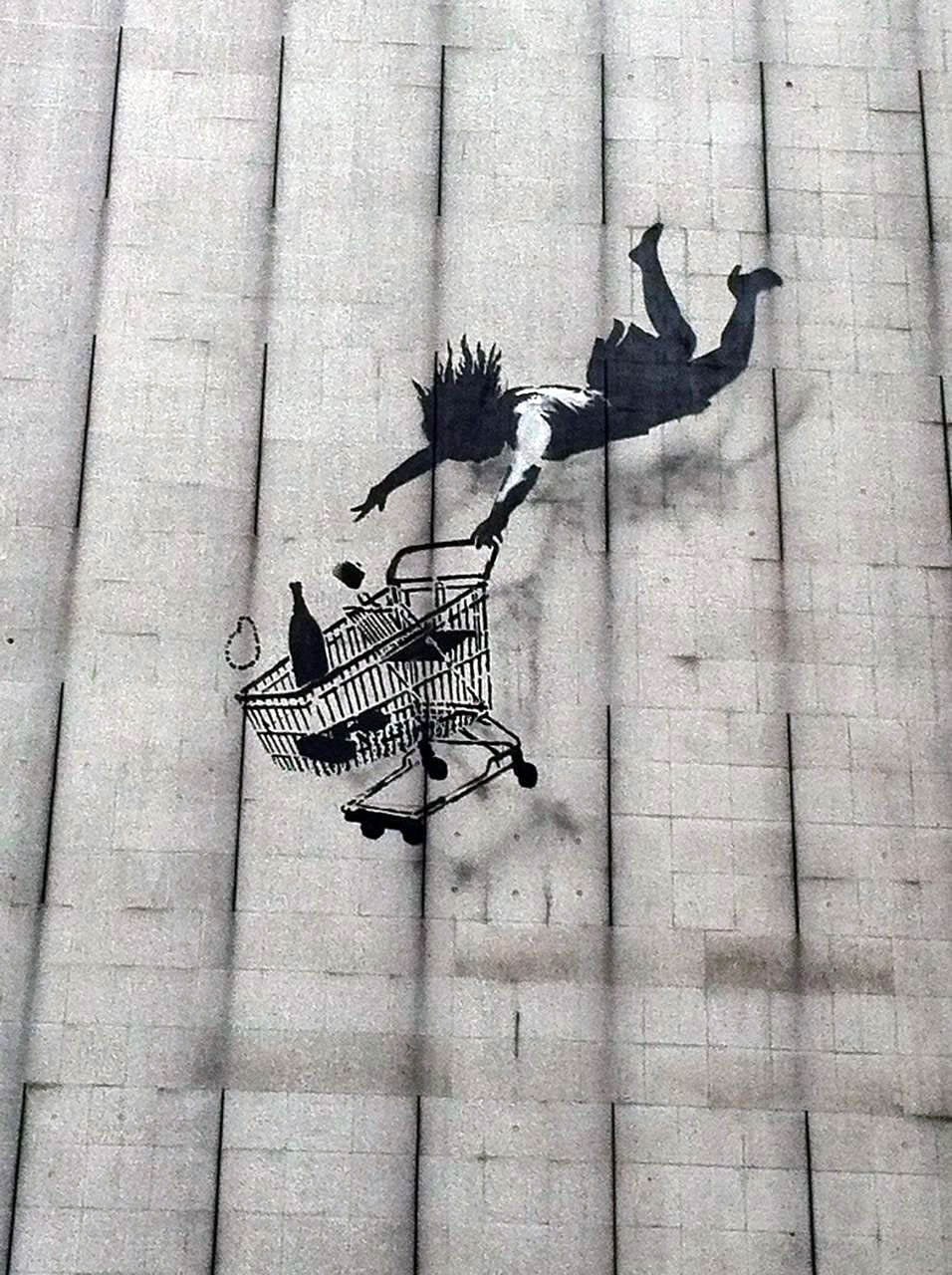 banksy-falling-shopper