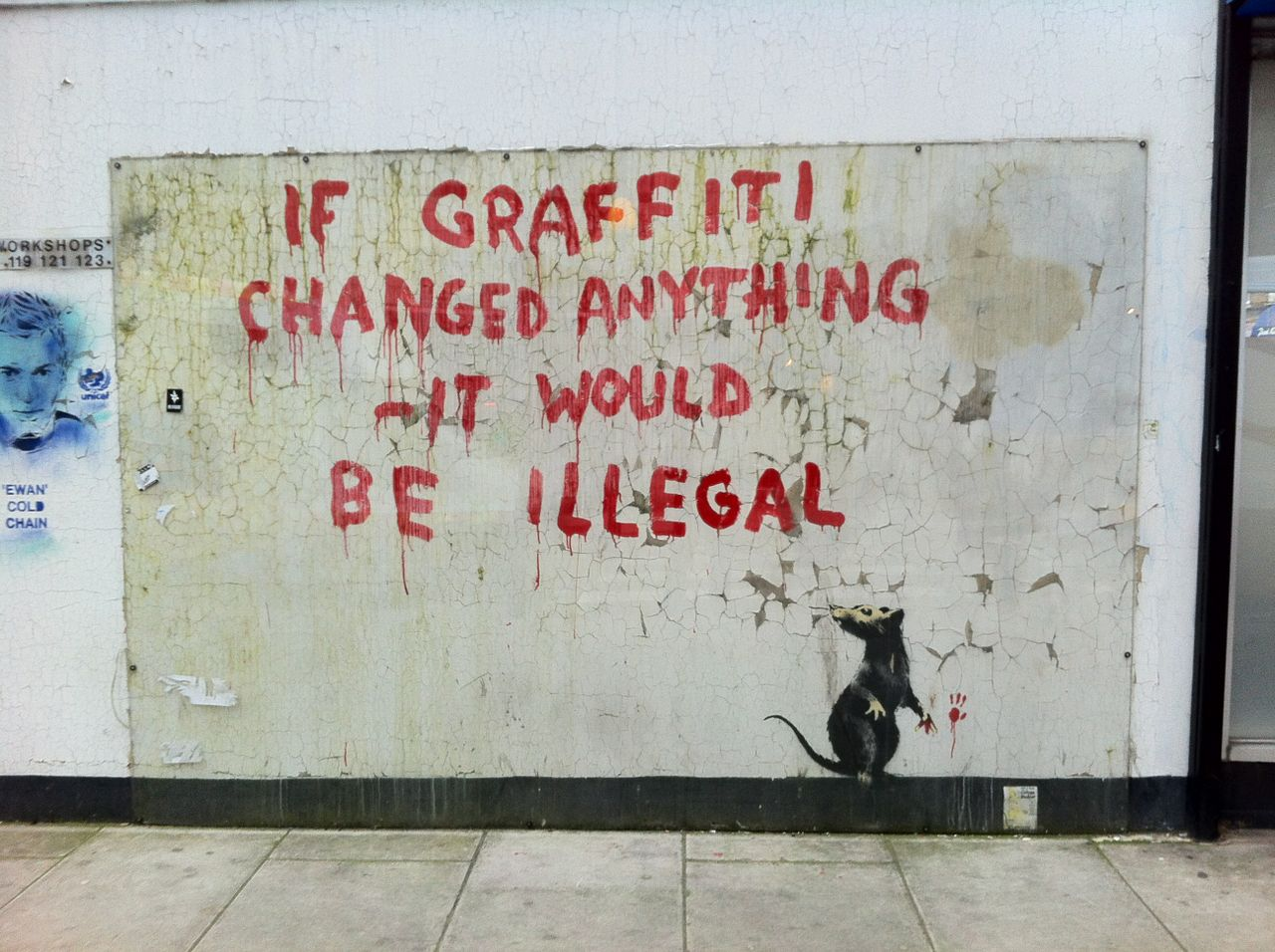 banksy-if-graffiti-changed-anything