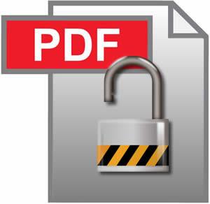 Unlock a PDF file